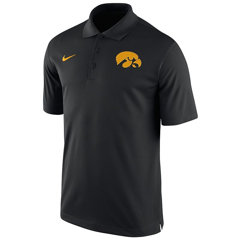 Men's Nike Iowa Hawkeyes Basketball Polo