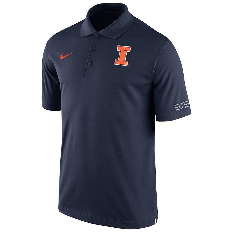 Men's Nike Illinois Fighting Illini Basketball Polo
