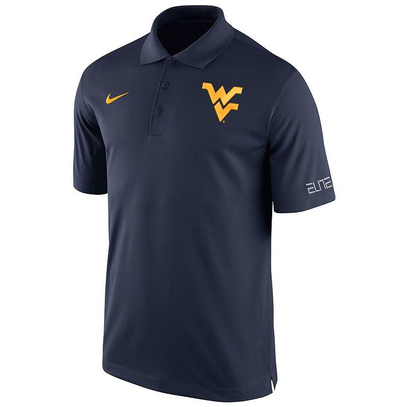 Men's Nike West Virginia Mountaineers Basketball Polo