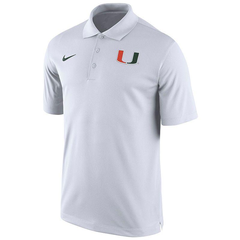 Men's Nike Miami Hurricanes Basketball Polo