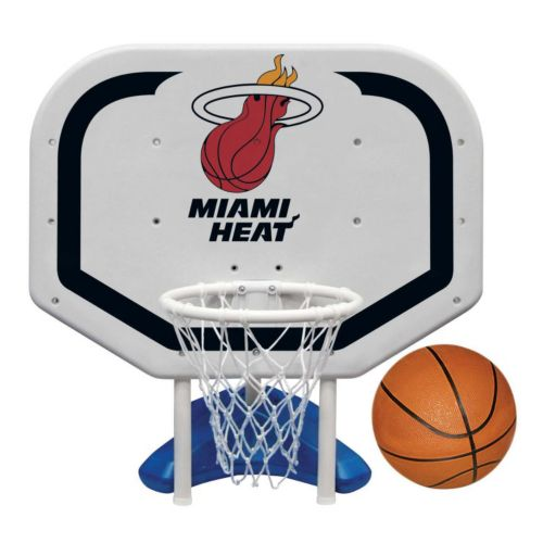 Poolmaster Miami Heat NBA Pro Rebounder Poolside Basketball Game