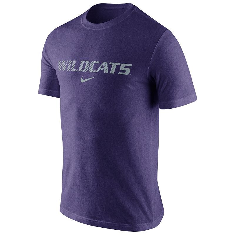 Men's Nike Kansas State Wildcats Basketball Tri-Blend Tee