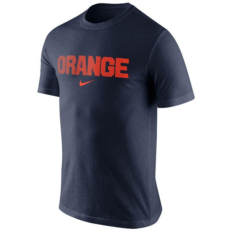 Men's Nike Syracuse Orange Basketball Tri-Blend Tee