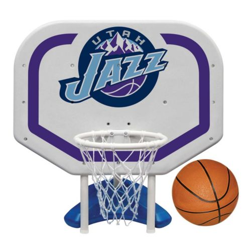 Poolmaster Utah Jazz NBA Pro Rebounder Poolside Basketball Game