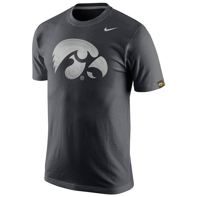 Men's Nike Iowa Hawkeyes Platinum Tri-Blend Tee