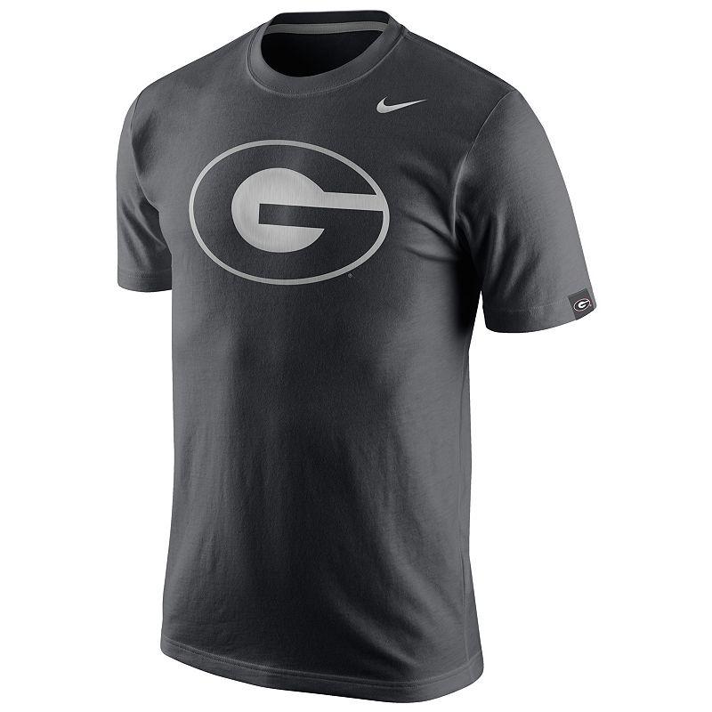 Men's Nike Georgia Bulldogs Platinum Tri-Blend Tee