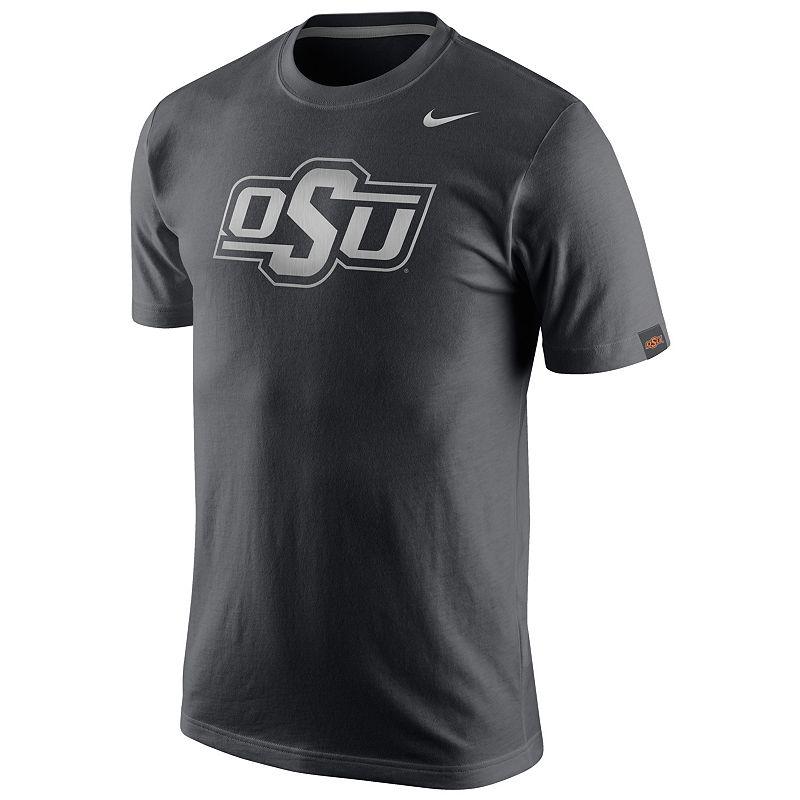 Men's Nike Oklahoma State Cowboys Platinum Tri-Blend Tee