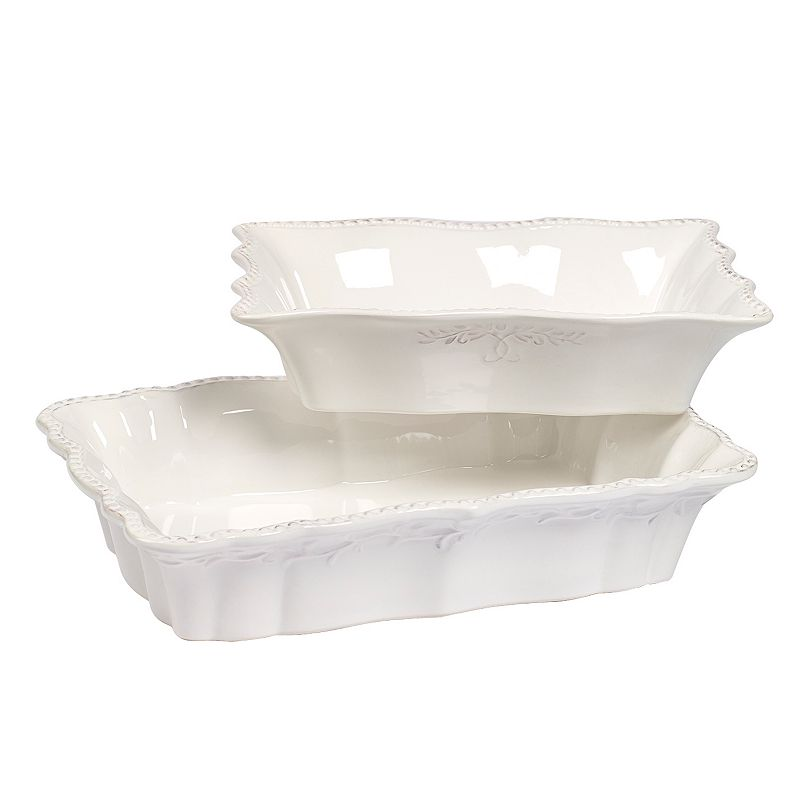 Gallery Le Provence 2-pc. Rectangular Baking Dish Set