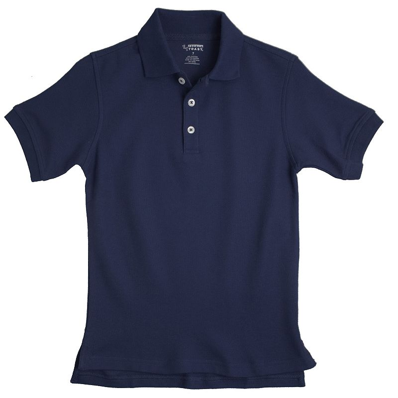 French Toast School Uniform Solid Pique Polo - Boys 8-20