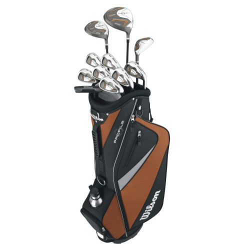 Wilson Profile Senior Right Hand Golf Club and Bag Set - Men