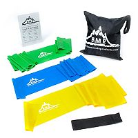Black Mountain Products Therapy Exercise Resistance Band Set