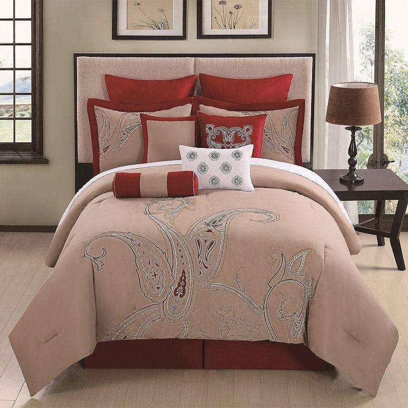 Corinth 10-pc. Comforter Set - Cal. King
