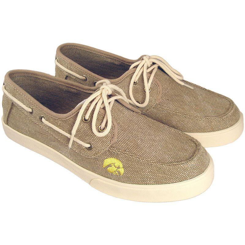 Men's Iowa Hawkeyes Captain Boat Shoes