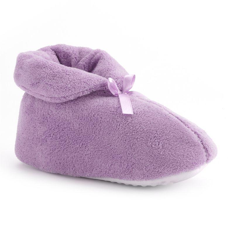 MUK LUKS Women's Bootie Slippers