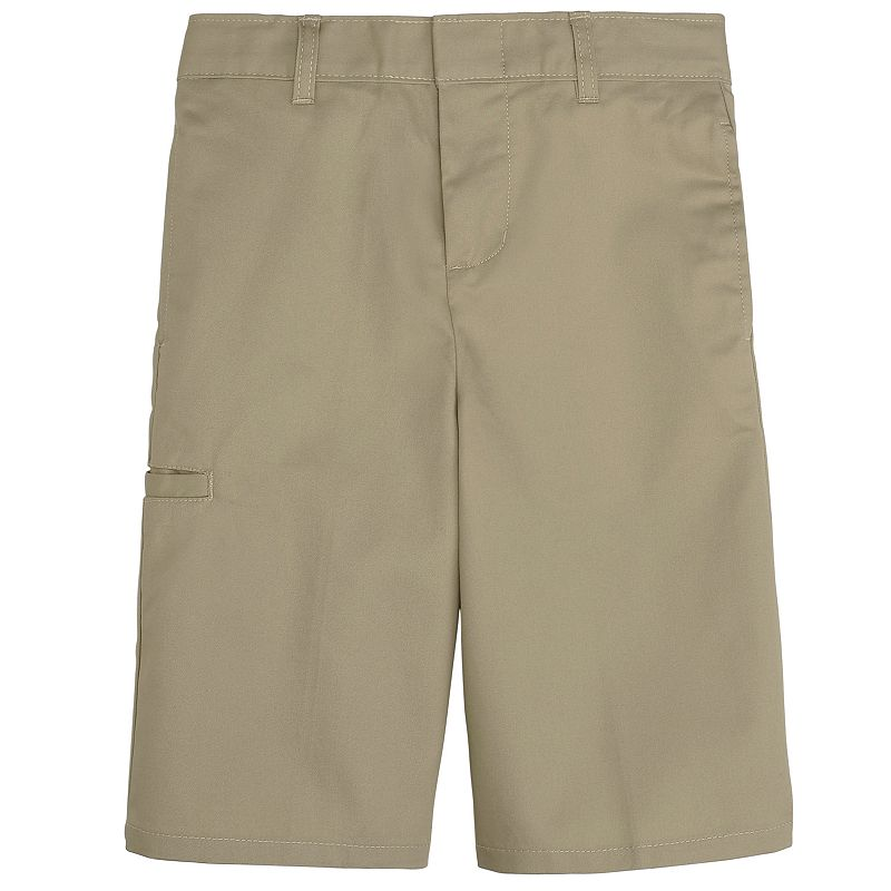 French Toast School Uniform Side-Pocket Shorts - Boys 8-20 Husky