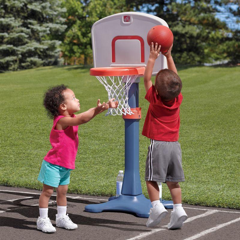 Step2 Shootin' Hoops Junior Basketball Set, Multicolor thumbnail