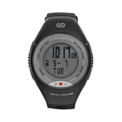 Soleus Watch - Pulse Digital Heart Rate Monitor