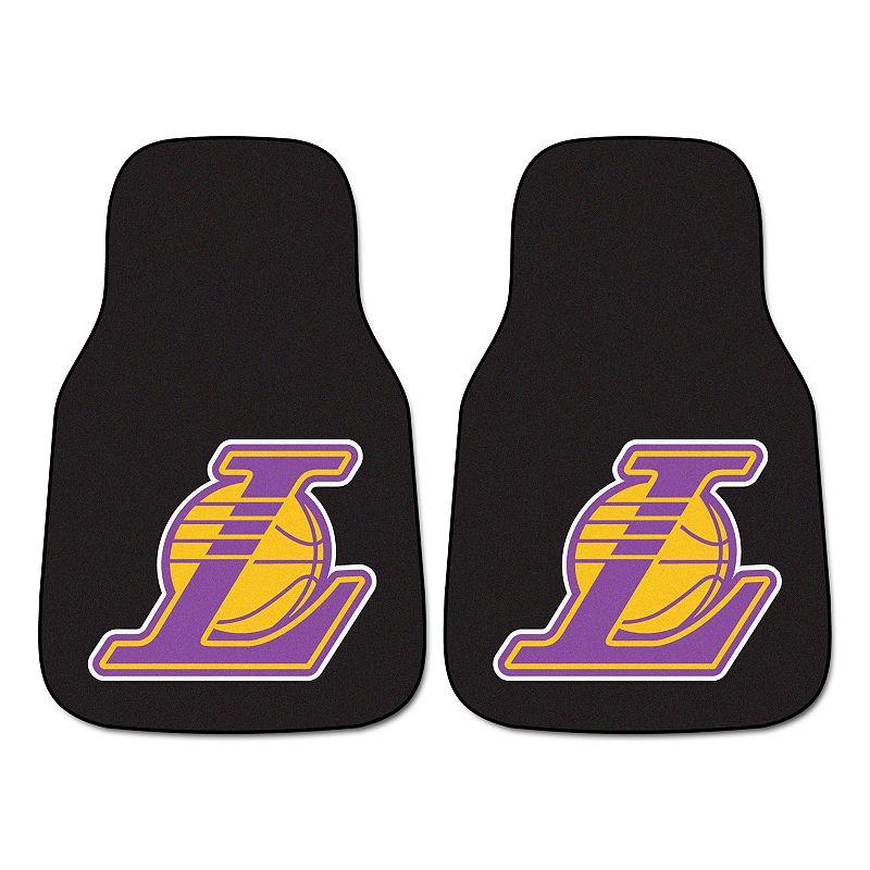 FANMATS 2-pk. Los Angeles Lakers Car Floor Mats