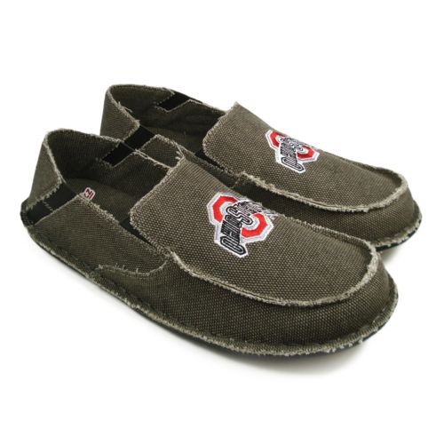 Ohio State Buckeyes Cazulle Canvas Loafers - Men