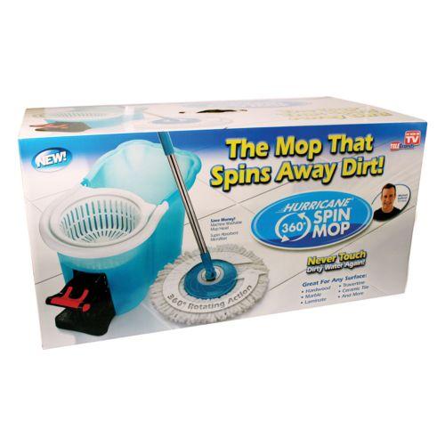 Hurricane Spin Mop Hard Floor Cleaner