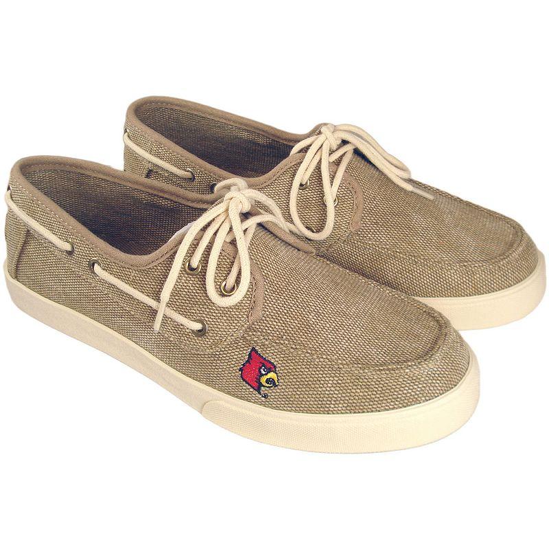 Men's Louisville Cardinals Captain Boat Shoes