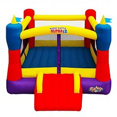 Blast Zone Inflatable Magic Castle Ultra 12 Bounce House by