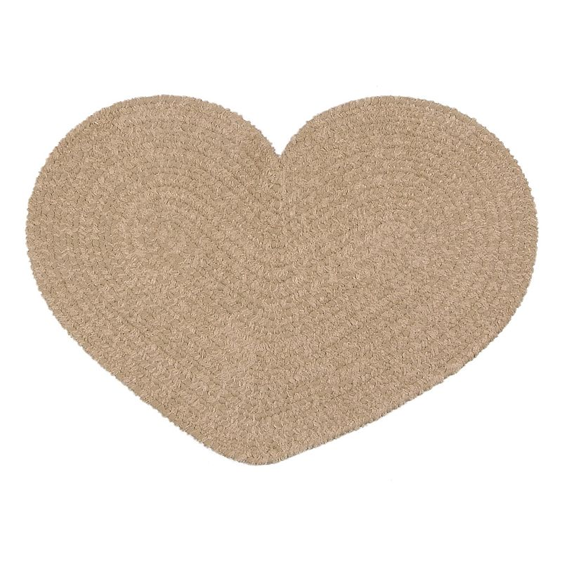 Colonial Mills Easy Living Heart Rug - 22 x 27