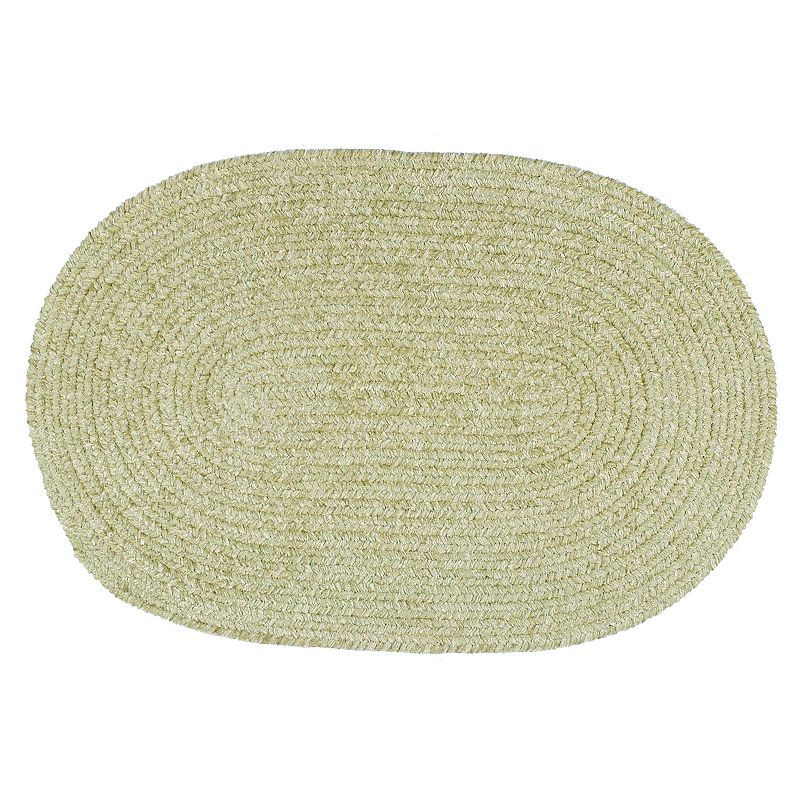 Oval Chenille Rug