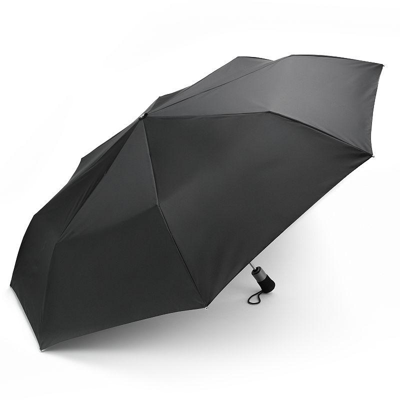 Totes Golf Automatic Umbrella, Black