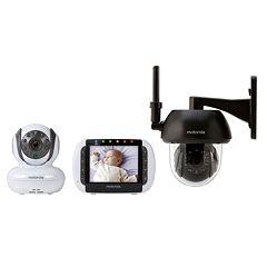 Motorola FOCUS360 Wireless Indoor Outdoor Video Baby Monitor