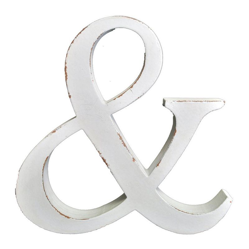 Belle Maison Ampersand Wall Decor
