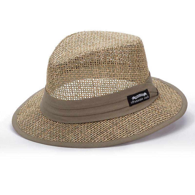 DPC Panama Jack Matte Seagrass Safari Hat - Men