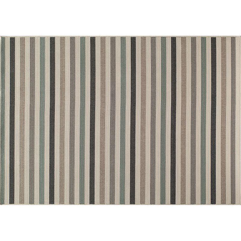 Momeni Baja Striped Indoor Outdoor Rug - 7'10'' x 10'10''