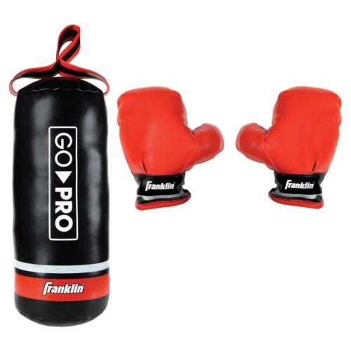 Franklin Go Pro Soft Sport Punching Bag and Glove Set