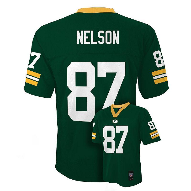 Boys 4-7 Green Bay Packers Jordy Nelson NFL Jersey