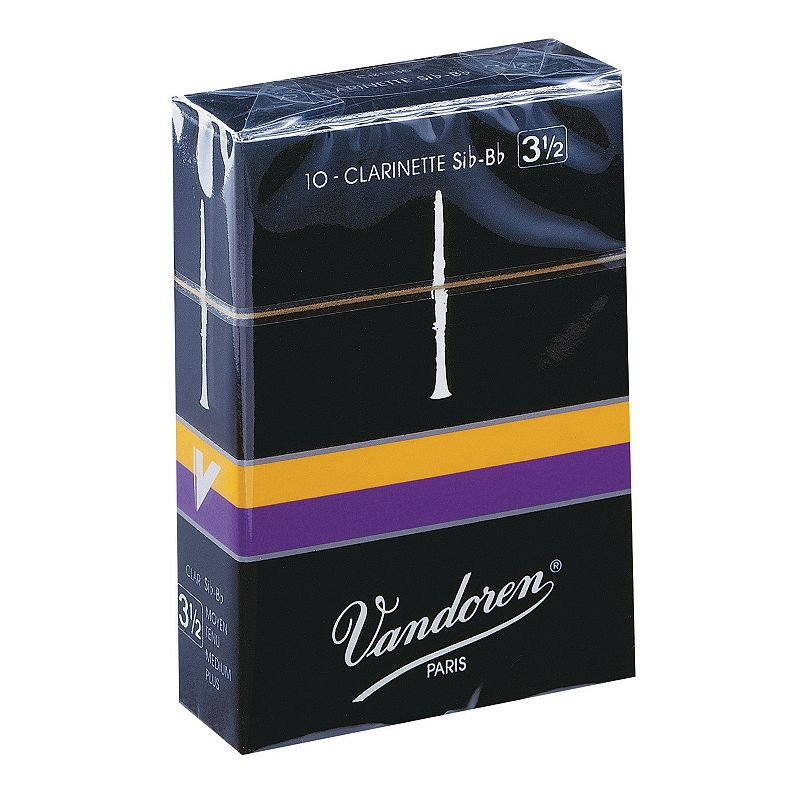 Vandoren Traditional 10-pk. Bb #3.5 Clarinet Reeds