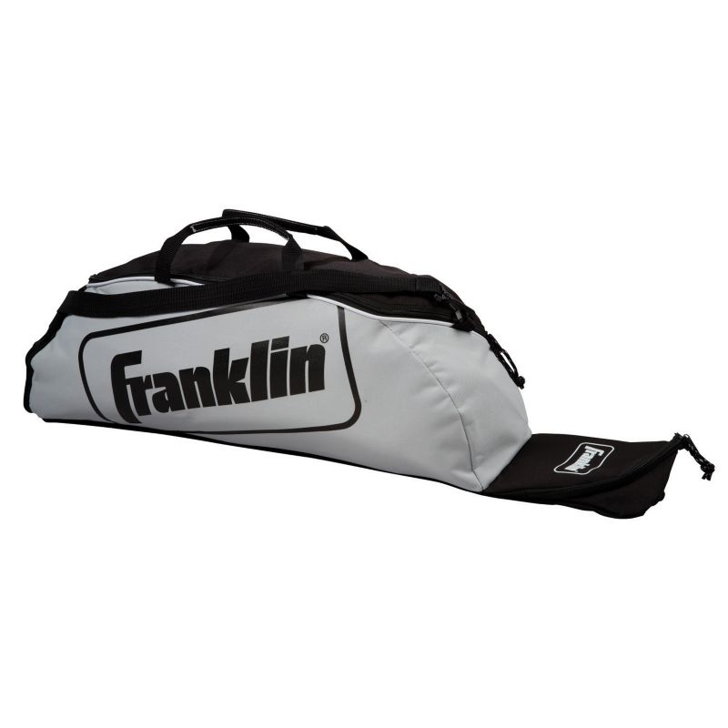 Franklin Sports Junior-Size Equipment Bag, Grey thumbnail