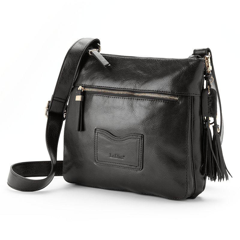 La Diva Leather Crossbody Bag