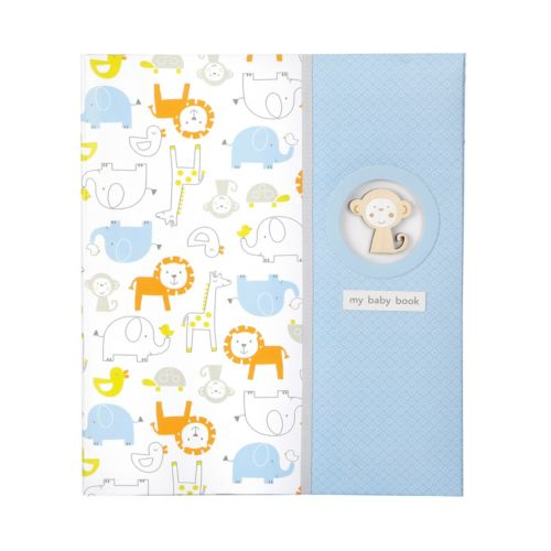 Carter's Monkey Pals Baby Memory Book