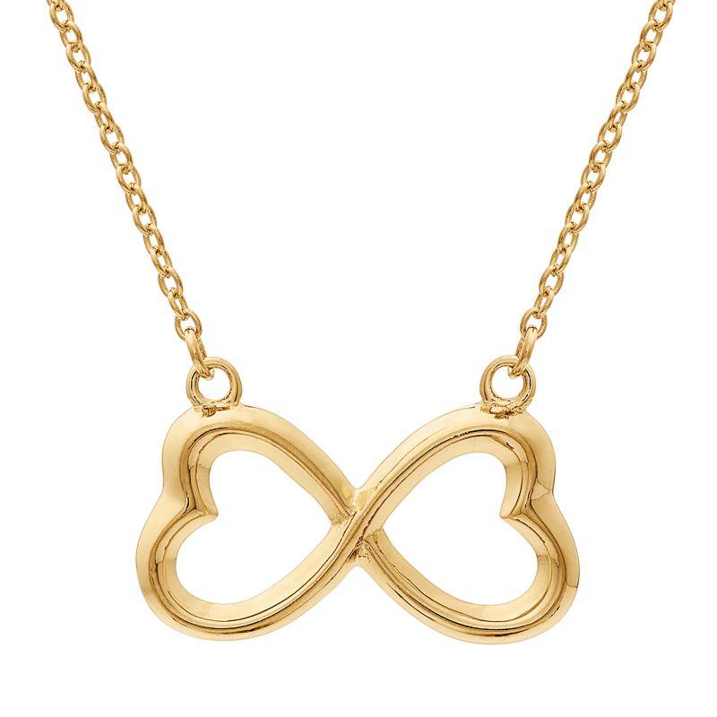 gold infinity jewelry kohls