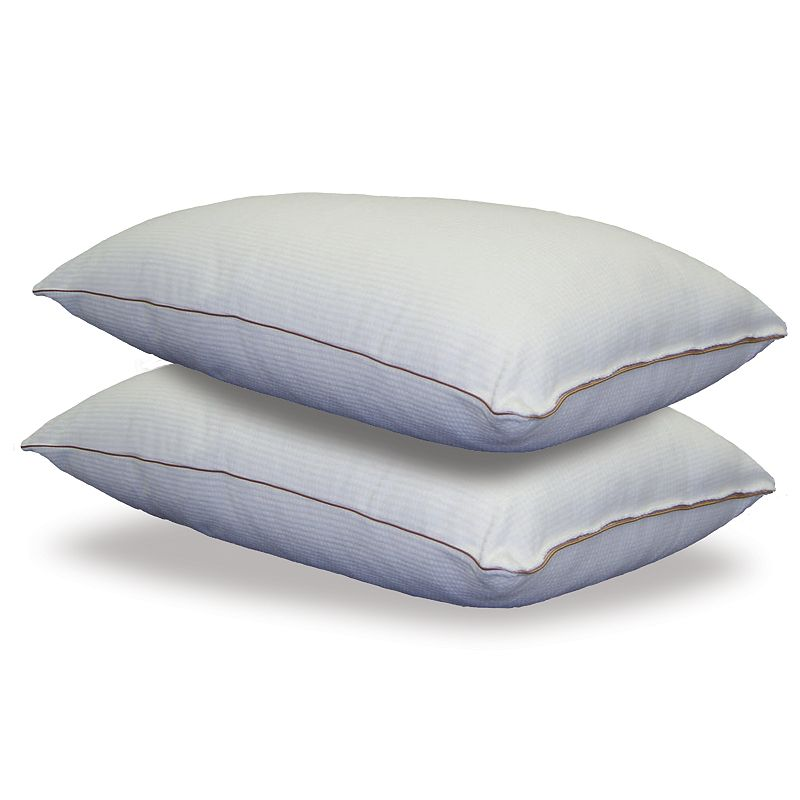 Beautyrest Spa Luxury 2-pk. Firm Velour Pillows - Standard/Queen