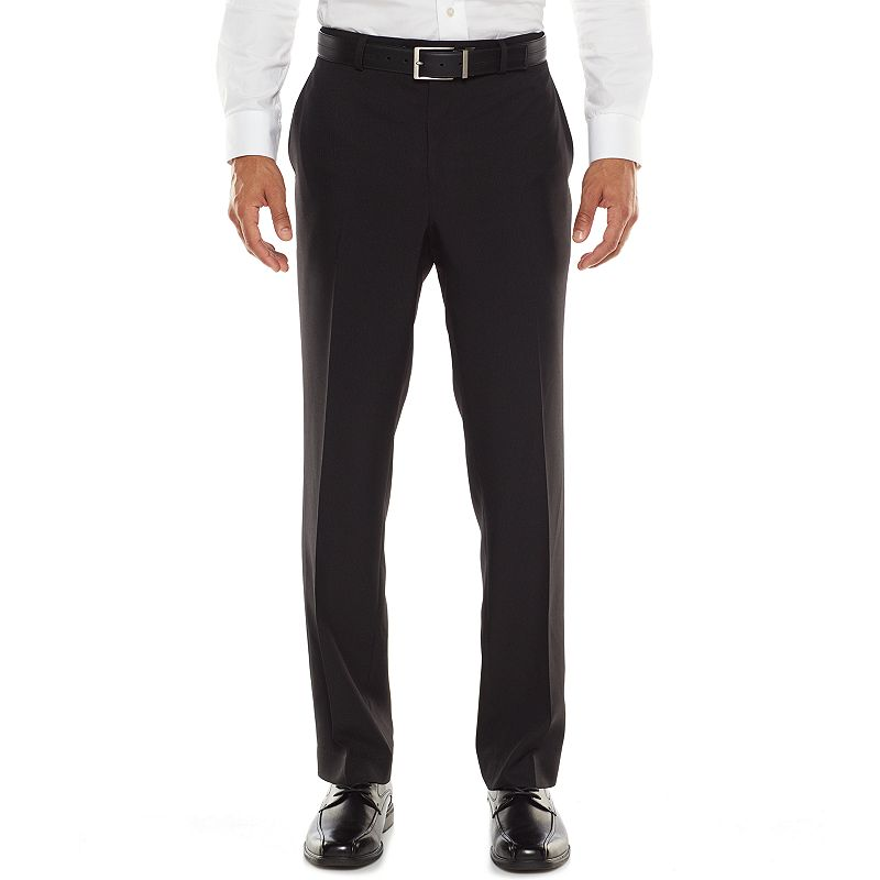 Men's Apt. 9® Extra-Slim Fit Textured Stripe Dress Pants