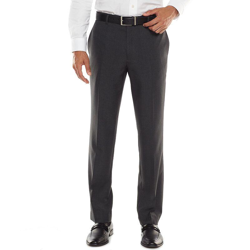 Men's Apt. 9® Extra-Slim Fit Textured Stripe Dress Pants