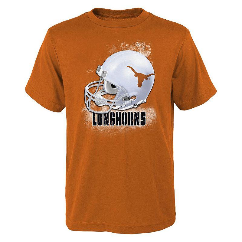 Boys 8-20 Texas Longhorns Helmet Tee