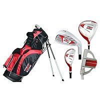 Merchants of Golf Red Zone 5-Club Right Hand Golf Club & Bag Set - Youth