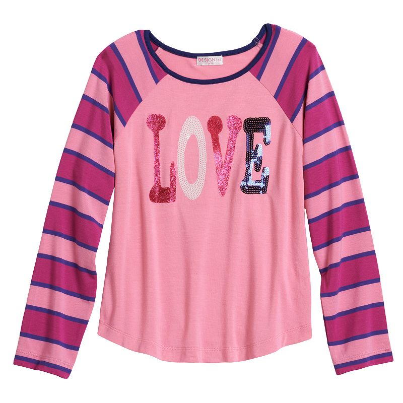 Design 365 Love Striped Top - Toddler