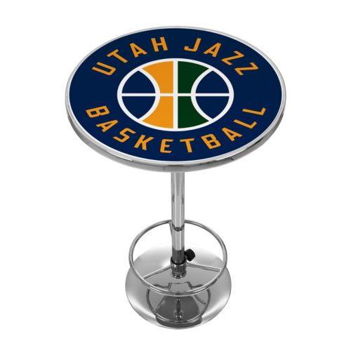 Utah Jazz Chrome Pub Table