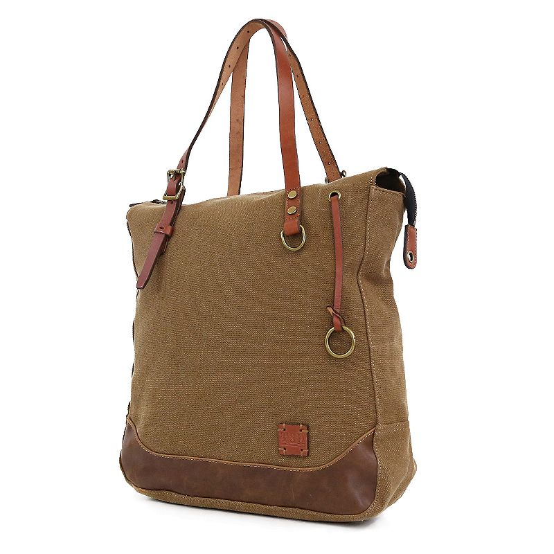The Same Direction Red Wood Tote