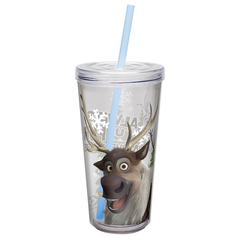 Zak Designs Disney Frozen Sven 16-oz. Insulated Straw Tumbler
