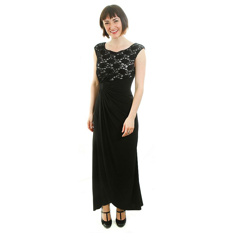 Connected Apparel Embellished Gathered Dress - Women's